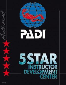 PADI 5 star centre