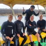 Some of the Scuba Divers Yonaguni